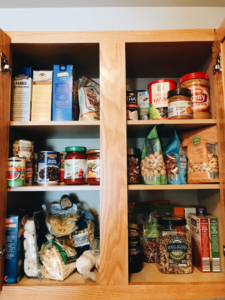 How To Meal Plan Organize Your Pantry Blue Bowl